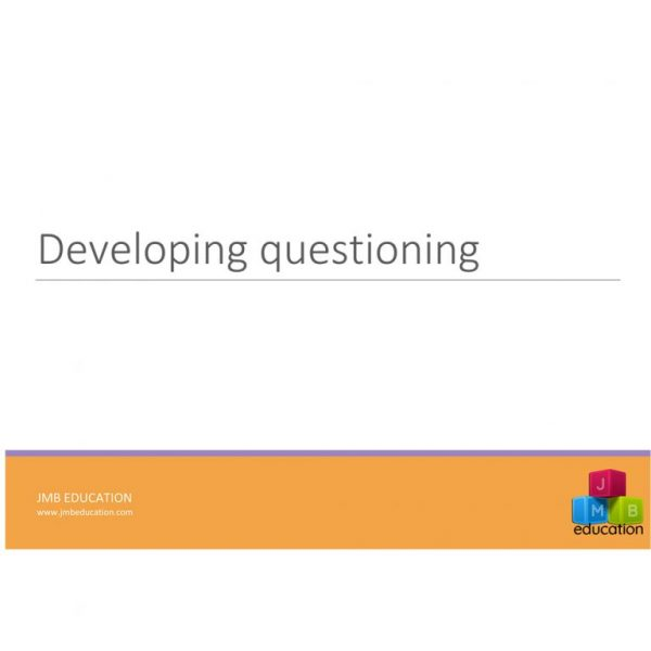 Developing questioning in the curriculum