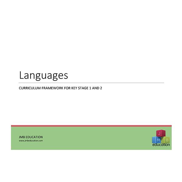 Curriculum framework - primary languages MfL progression of skills