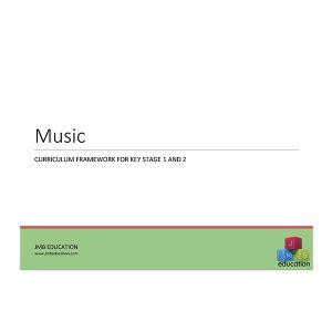 Curriculum framework - music progression of skills