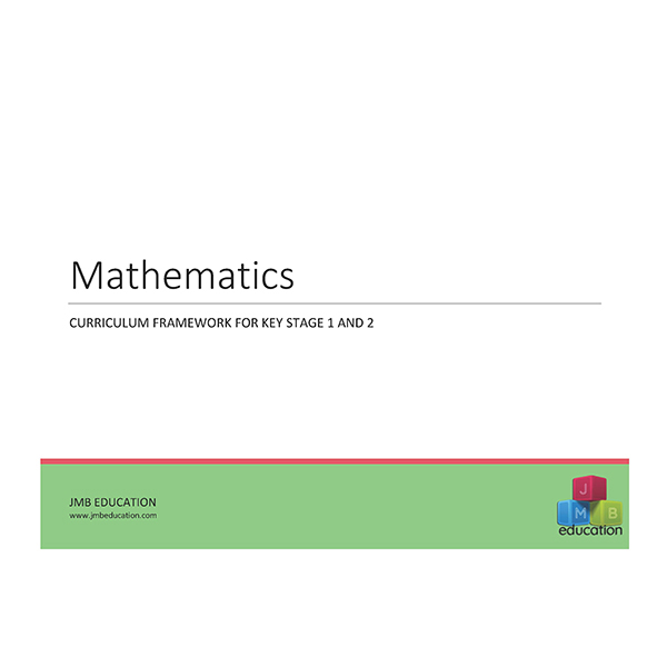 Curriculum framework - mathematics progression of skills